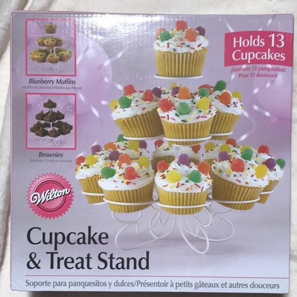 New in box! Wilton Cupcake & Treat Stand 13 treats